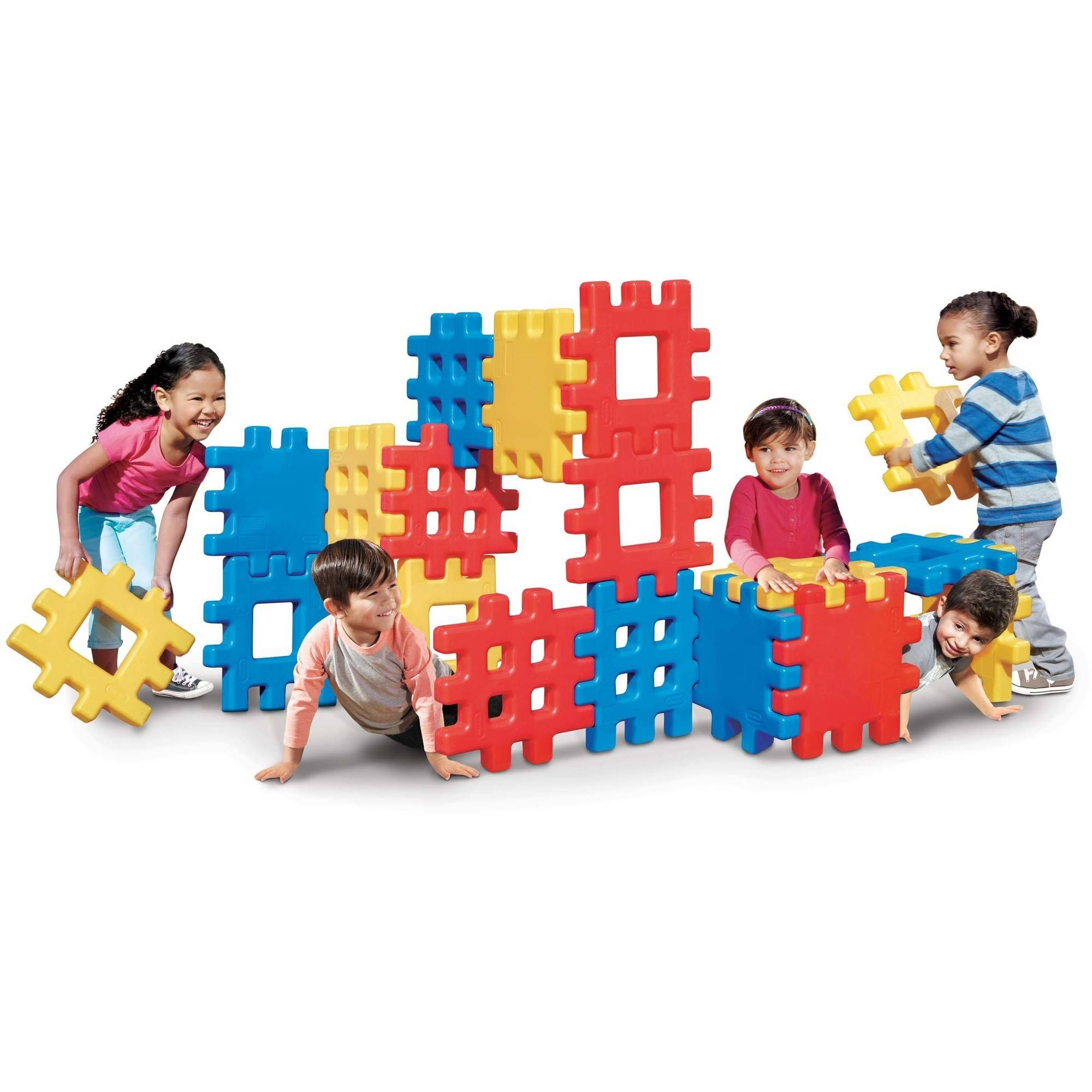 Little Tikes Big Waffle Block Set, 18 Pieces