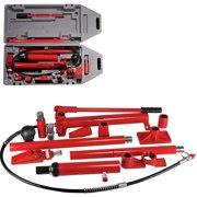 Hiltex 10 Ton Porta Power   Hydraulic Jack Air Pump Lift Ram Repair Tool Kit Auto Body