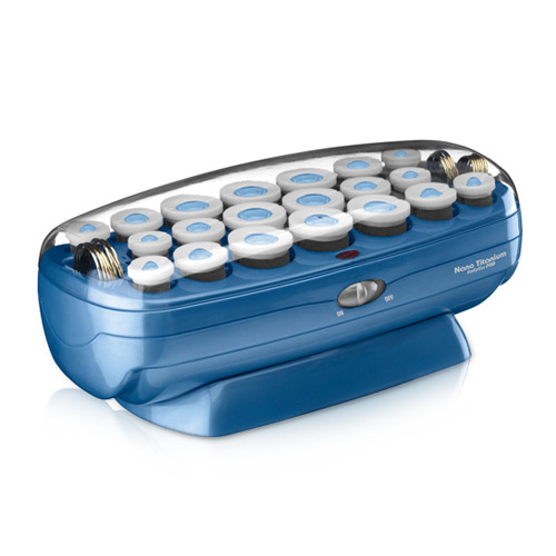 BaByliss PRO BABNTCHV21 Nano Titanium Ceramic Professional 20 Roller Hairset