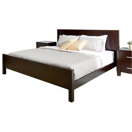 Bowery Hill California King Panel Bed In Dark Truffle