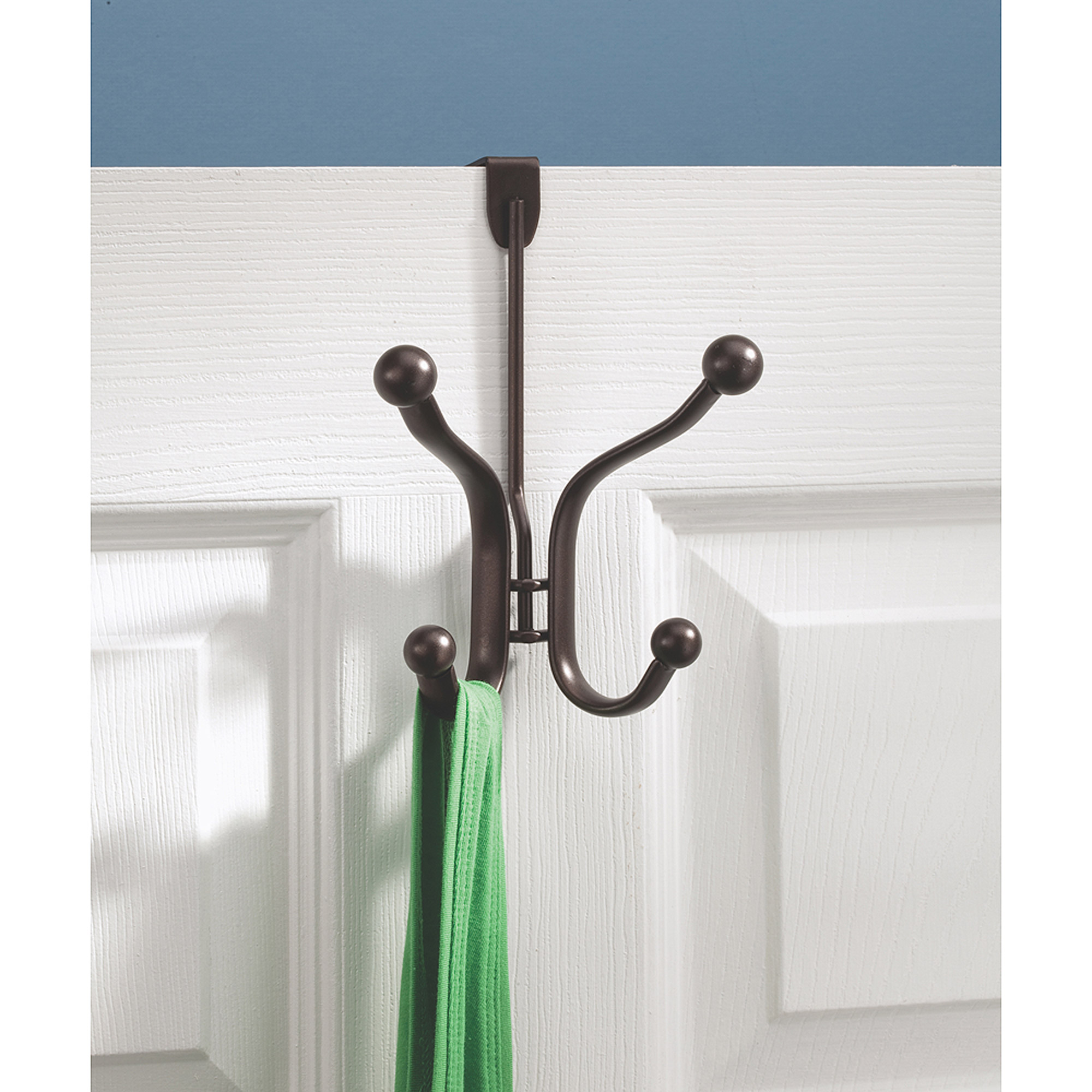 InterDesign Axis Over-the-Door Quad Hook