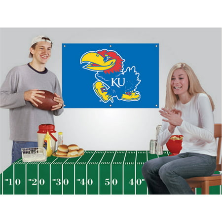 (NCAA Football Party Kit, Kansas Jayhawks)