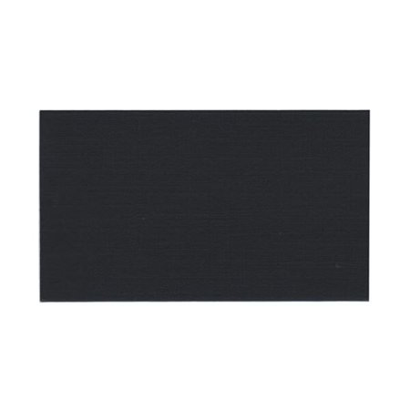 JAM Paper Flat Note Cards, 2 x 3 1/2, Black, 500/box