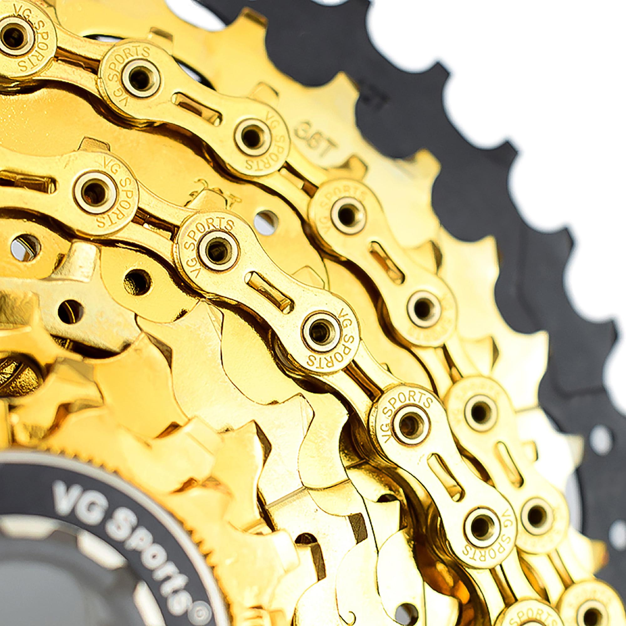 Bike Chain 8//9//10//11 Speed Full Hollow//Half Hollow 116L MTB Road Racing Bicycle