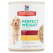 Hill`s Science Diet Adult Perfect Weight Hearty Vegetable & Chicken Stew Canned Dog Food, 12.5 oz, 12-pack