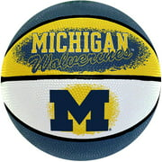 "Game Master NCAA 7"" Mini Basketball, University of Michigan Wolverines by Gulf Coast Sales"