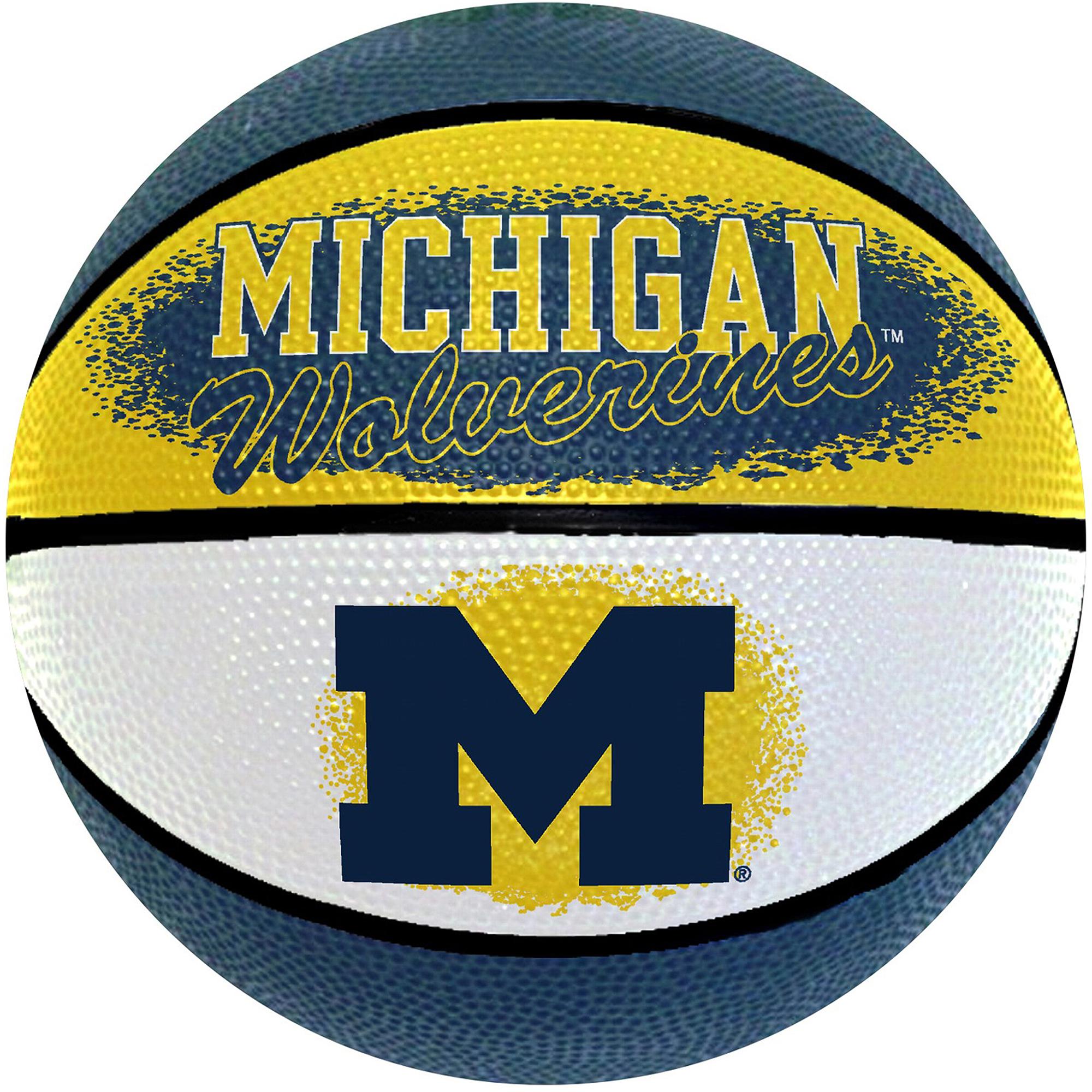 "Game Master NCAA 7"" Mini Basketball, University of Michigan Wolverines"