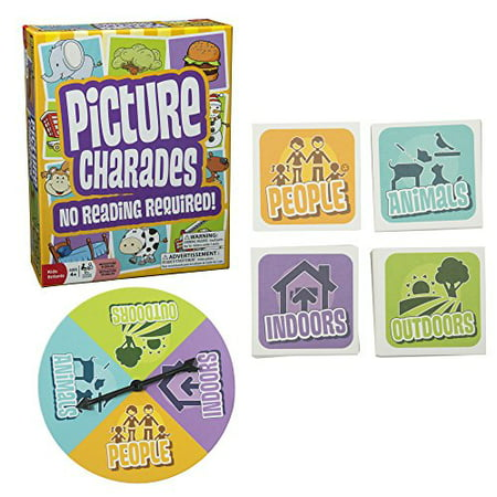 Picture Charades for Kids - No Reading Required! - An Imaginative Twist on a Classic Game Now for Young Children by Outset Media