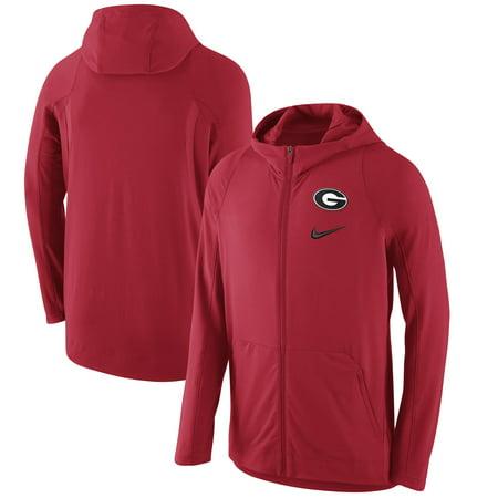 Georgia Bulldogs Nike Basketball Player Hyper Elite Performance Full-Zip Hoodie - Red - (Nike Roshe Run Siren Red For Sale)