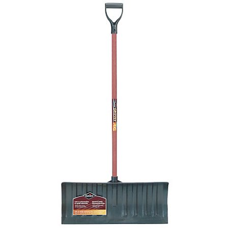 """Ames Garant Grizzly 26"""" Heavy Duty Poly Snow Pusher"""