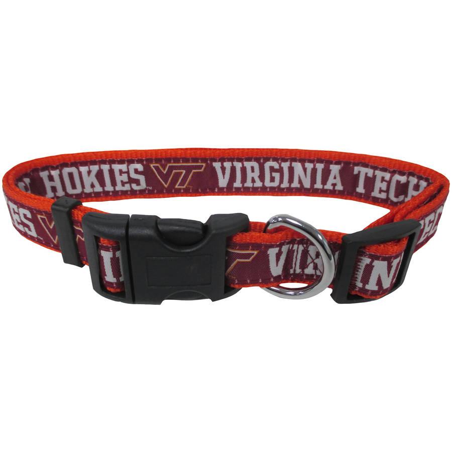 Pets First College Virginia Tech Hokies Pet Collar, 3 Sizes Available, Sports Fan Dog Collar
