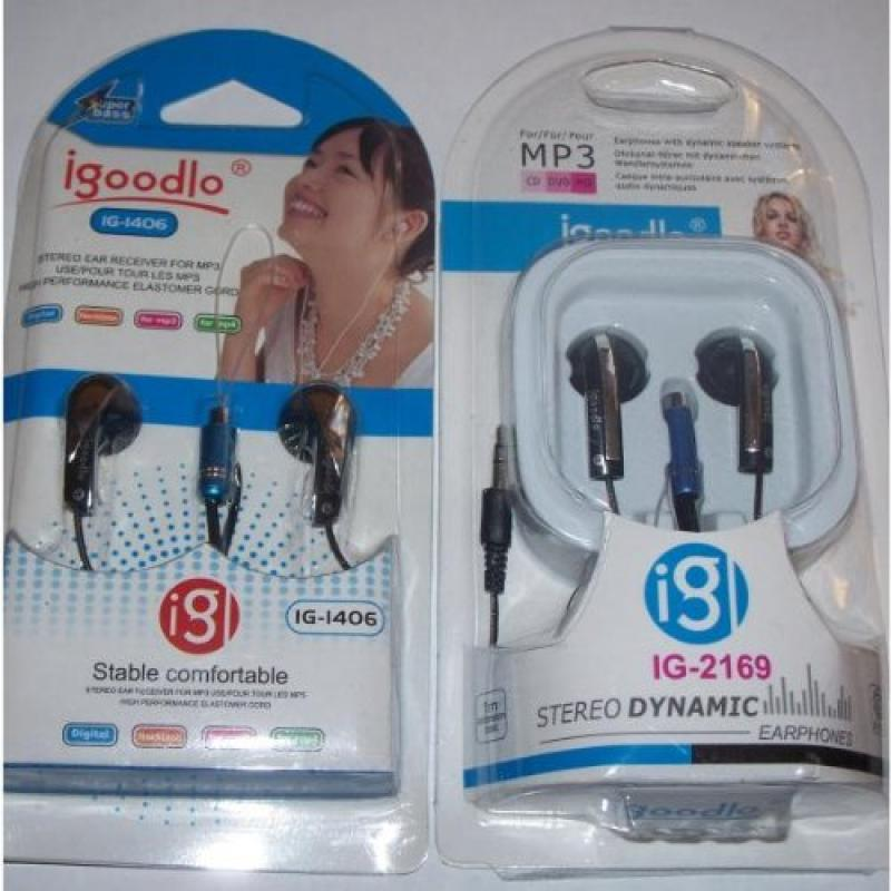 Earphones - Assorted Case Pack 100