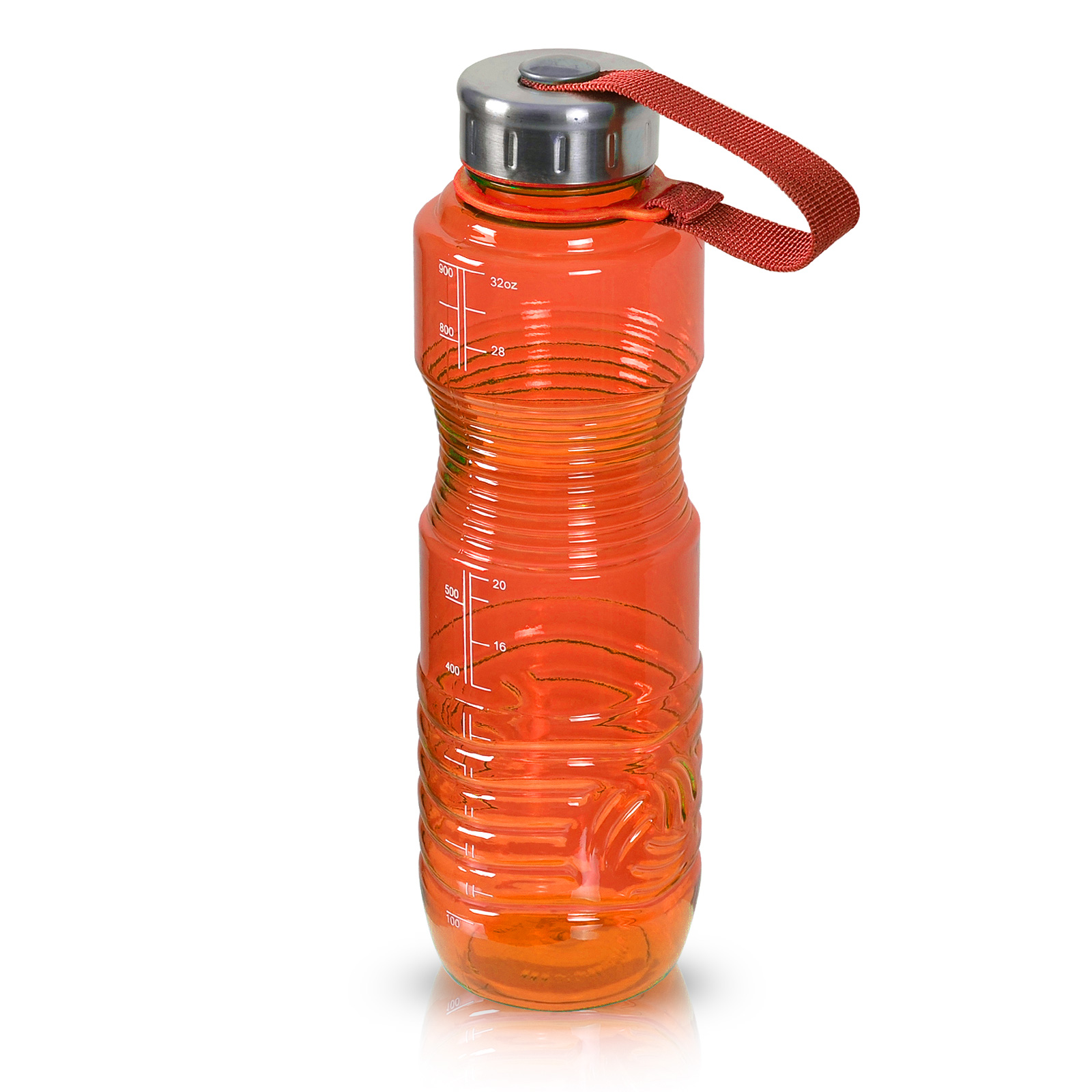32oz BPA FREE Reusable Plastic Sport Water Bottle Jug Container
