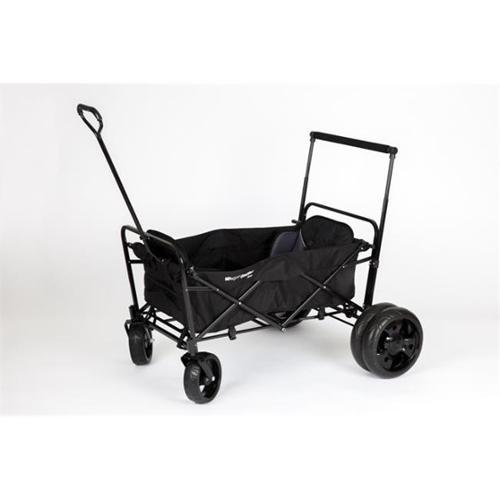 Go-Go Babyz WGNST-D Wagon Stroller - Double, Black
