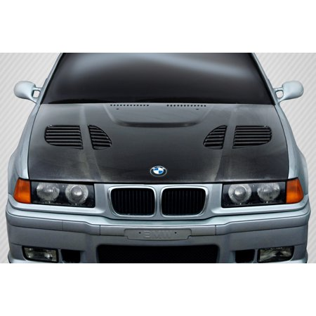 1992-1998 BMW 3 Series M3 E36 4DR Carbon Creations DriTech GTR Hood - 1 Piece