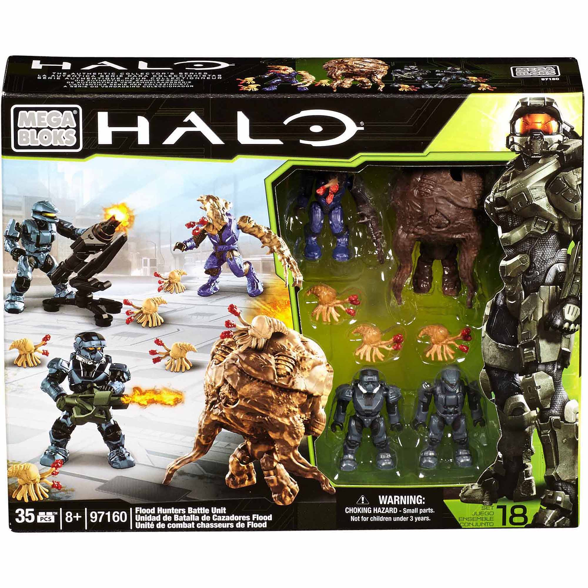 Mega Bloks Halo Flood Battle Unit