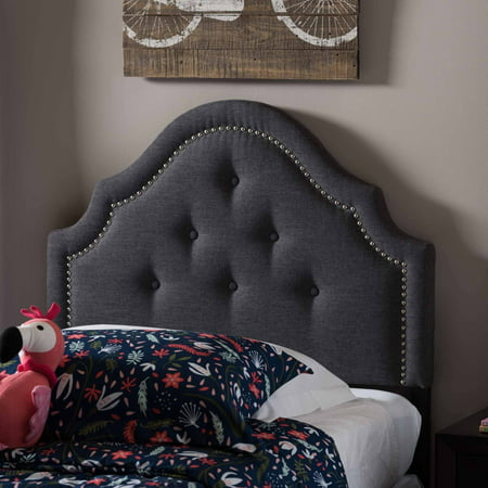 Baxton Studio Aubrey Modern and Contemporary Upholstered Twin Size Headboard, Multiple Finishes ()