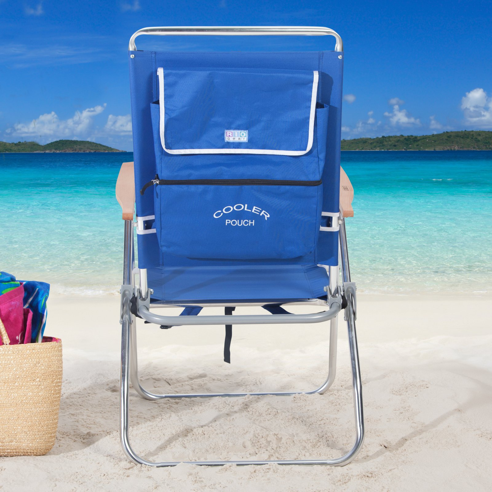 Rio Backpack Beach Chair With Cooler Reviews Chairs