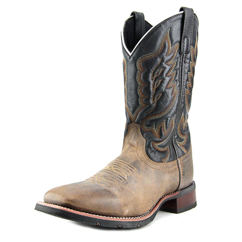 Laredo Stockman Square Toe Leather Western Boot by Laredo