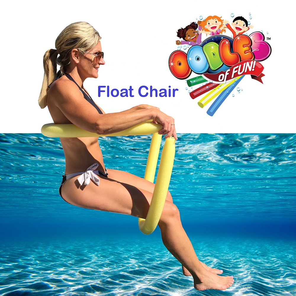 Incroyable Floating Pool Noodle Water Chair Comfortable And Relaxing By Oodles Of  Noodles   Walmart.com