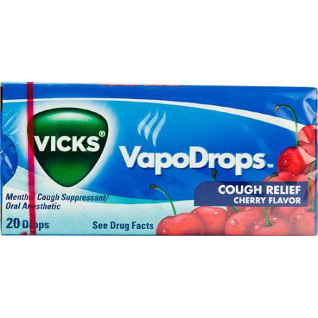 Vicks VapoDrops Cherry 20 - 400 Cherry