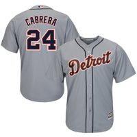 b2553345d Product Image Miguel Cabrera Detroit Tigers Majestic Cool Base Player Jersey  - Gray