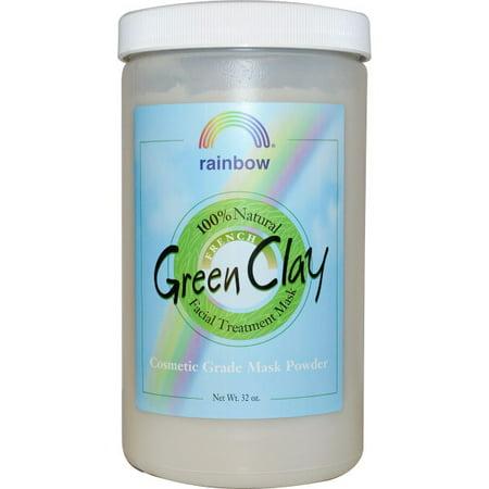 RAINBOW RESEARCH - French Green Clay Powder 32 OZ ()