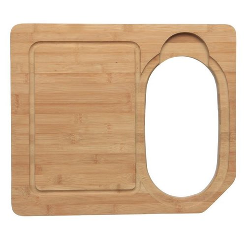 Ukinox Hardwood Cutting Board and Colander Sink Set