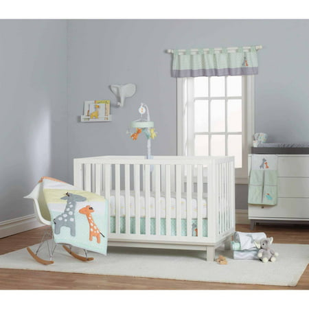 416bc7183 Child of Mine by Carter's Giraffe Family Crib Bedding Set, 3-Piece -  Walmart.com