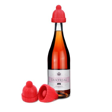 Christmas Wine Stoppers.Wine Stopper Wine Corks Bottle Stoppers Cute Silicone Reusable Decorative Wine Bottle Stoppers And Corks Best Christmas Wine Gifts Set Of 3