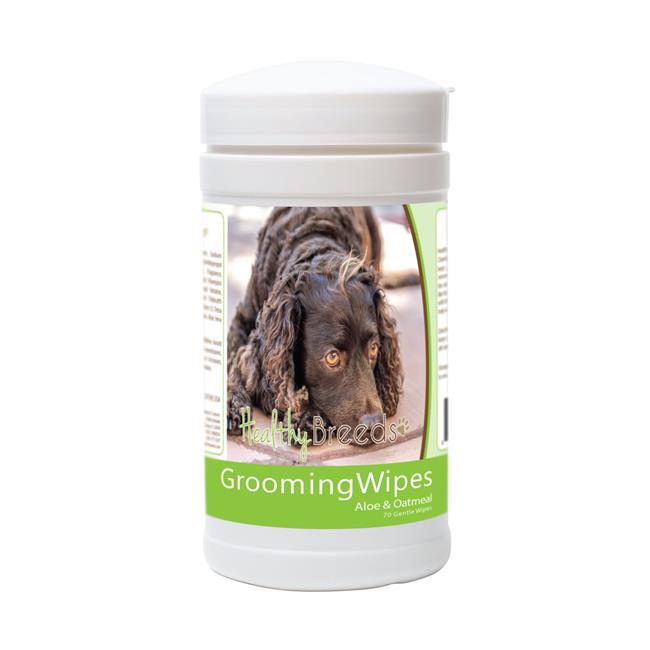 Healthy Breeds 840235176275 American Water Spaniel Grooming Wipes - 70 Count - image 1 of 1