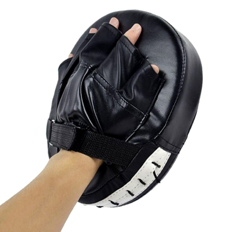 Five Fingers Boxing Gloves Pads for Muay Thai Kick MMA Training Target Pad