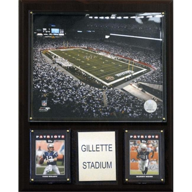 C & I Collectables 1215GILLST NFL Gillette Stadium Plaque