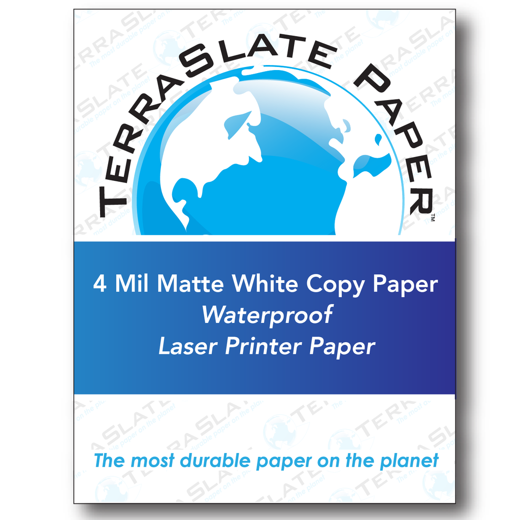 """Laser Waterslide Decal Paper,White 8.5/"""" x 11/"""" 100 sheets :"""