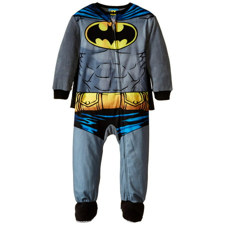 Komar Kids Little Boys' Batman Blanket Sleeper with Cape