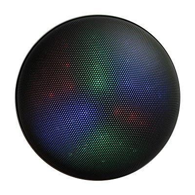 fstgo b2 portable wireless led bluetooth speakers - black
