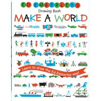Ed Emberley Drawing Books: Ed Emberley's Drawing Book: Make a World (Paperback)