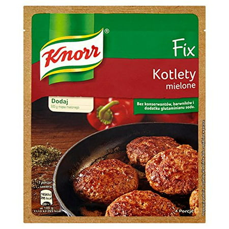 Knorr Fix Kotlety Mielone Meatball Flavor Mix (3-Pack)