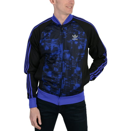 Adidas Mens Adidas Originals Superstar City Scape Track Jacket