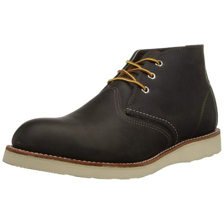 Red Wing 3150: Mens Heritage Work Chukka Charcoal Rough & Tough Boots (9.5 D(M) US
