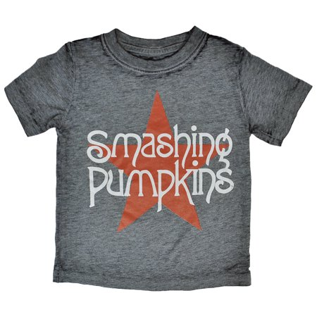 Smashing Pumpkins Burnout Star Toddler Boys T-Shirt](Smashing Pumpkins Halloween 2017)