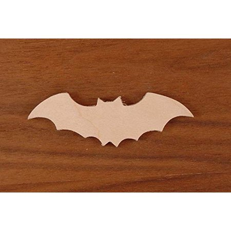 WOODNSHOP BAT Cut Out 1/8 x 17 PKG 1 Laser Cut Wooden BAT (Bat Cut Outs)