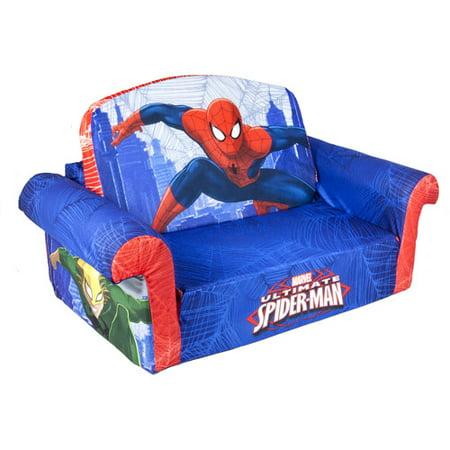 Spider Man  Toddler 2 In 1 Flip Open Sofa Chair