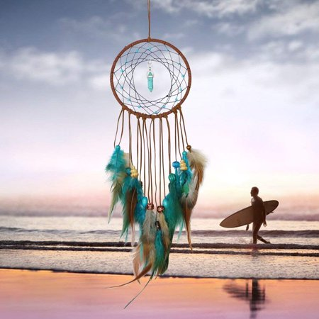 Handmade Dream Catcher Feathers Decoration For Car Wall Hanging Room Home - Feather Decorations