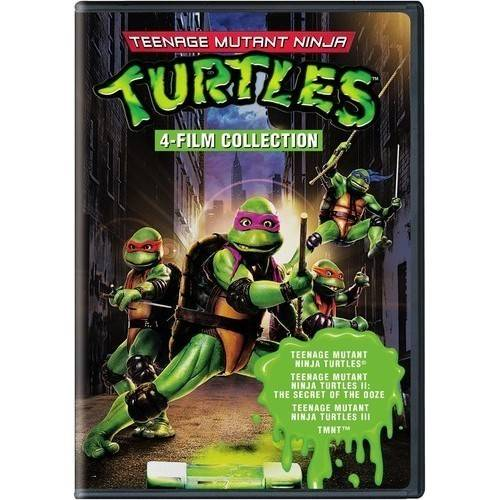 Teenage Mutant Ninja Turtles Collection: 4 Film Favorites (Widescreen)