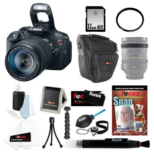 Canon EOS Rebel T5i with EF-S 18-135mm IS STM Lens Kit with 32GB Accessory Kit