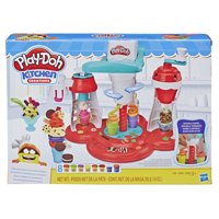 Play-Doh Kitchen Creations Ultimate Swirl Ice Cream Maker Play Food Set with 8 Non-Toxic Colors