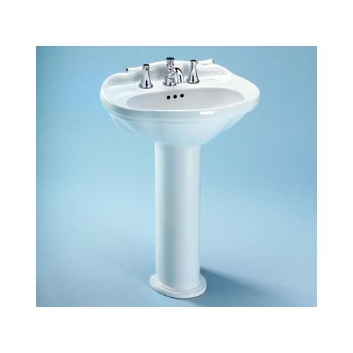 Toto Pedestal Only with Mounting Screws for LPT754 Sinks, Available in Various Colors