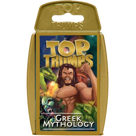 Top Trumps Greek Mythology Play Discover Cards
