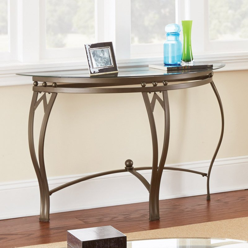 Steve Silver Madrid Sofa Table Walmart Com
